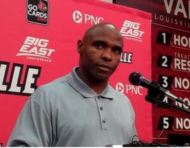 Charlie Strong remains the U of L football coach.