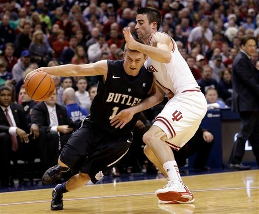 Butler beat Indiana on the glass -- and on the scoreboard -- for an overtime victory Saturday, 88-86.