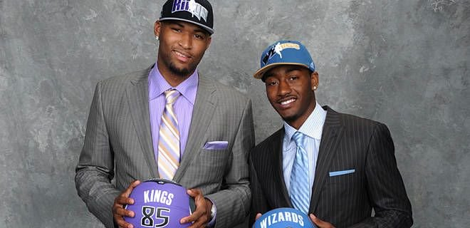 The Washington Wizards and Sacramento Kings have yet to improve with DeMarcus Cousins (left) and John Wall.