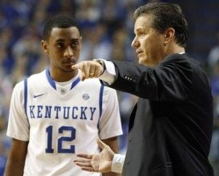 John Calipari and Kentucky need Ryan Harrow to maintain his solid play of the last two games.