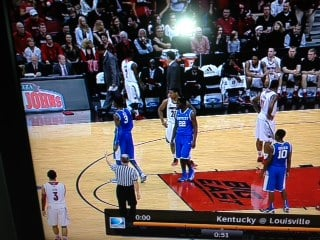 Alex Poythress (22) shot free throws Nerlens Noel (3) was scheduled to shoot for Kentucky Saturday.