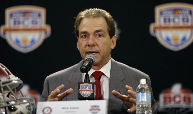 Nick Saban is going for his third national title in four seasons, but he didn't beat Chris Redman and Ron Cooper in 1996.