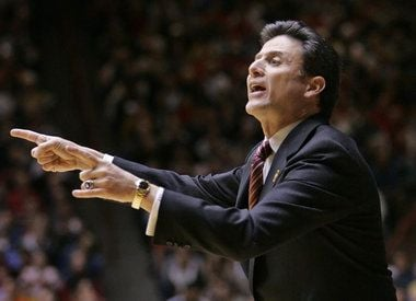 Rick Pitino said Louisville will have to improve its three-point defense to win at Seton Hall Wednesday.