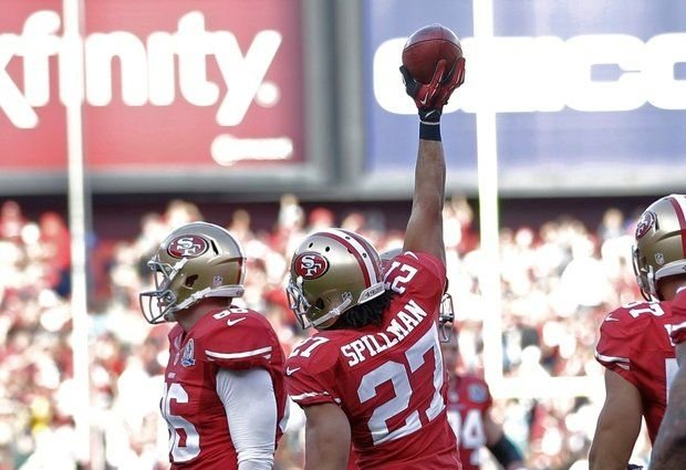 Former Central star C.J. Spillman helped the 49ers to the NFC title game.