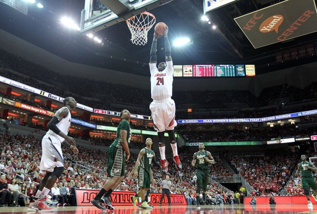Louisville has been ranked in the AP college basketball poll 539, but this is the Cards' first top ranking in the regular season.
