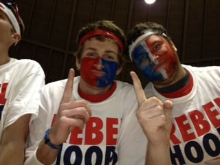 Ole Miss students packed the Tad Smith Coliseum more than two hours before the UK game Tuesday.