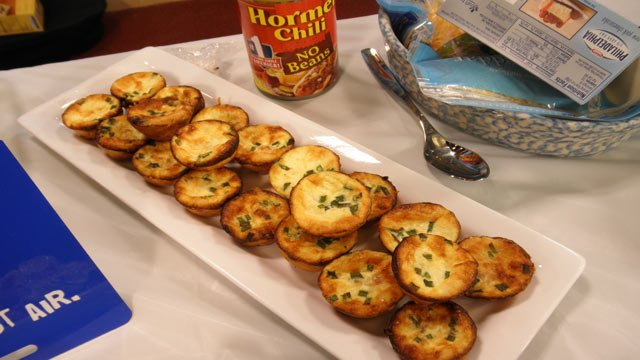 Candyce's Bacon-Parmesean Tassies