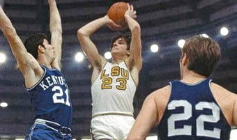 SEC teams have failed to score 40 points six times this season. Pete Maravich averaged 44 points over three seasons at LSU.