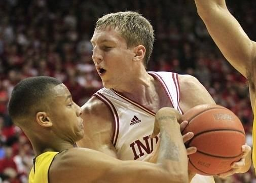 Cody Zeller had 22 points and 10 rebounds to lead Indiana past Iowa, 73-60