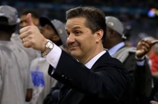 John Calipari is still trying to navigate this Kentucky team into one of the final spots in the NCAA Tournament.