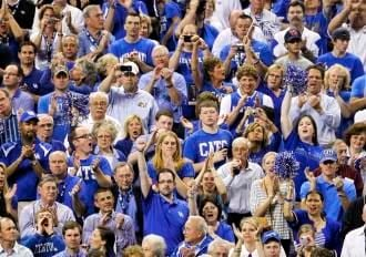 The SEC had a record low attendance for the opening round of its basketball tournament Wednesday and can't wait for UK fans to arrive