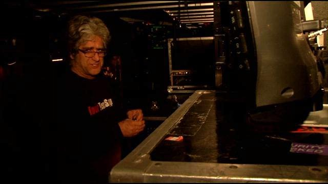 Bon Jovi travels with 65 crew members. It takes 18 trucks to haul equipment.