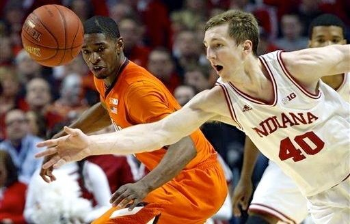Cody Zeller had 24 points and 9 rebounds as Indiana beat Illinois, 80-64, in the Big Ten Tournament Friday.