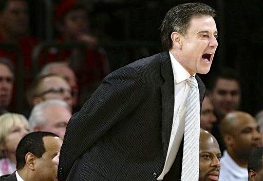 This hasn't been a push-button experience as Rick Pitino has put together the top seed for the NCAA Tournament at Louisville.