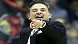 Rick Pitino's Louisville team began the NCAA Tournament as the favorite -- and nothing has changed.