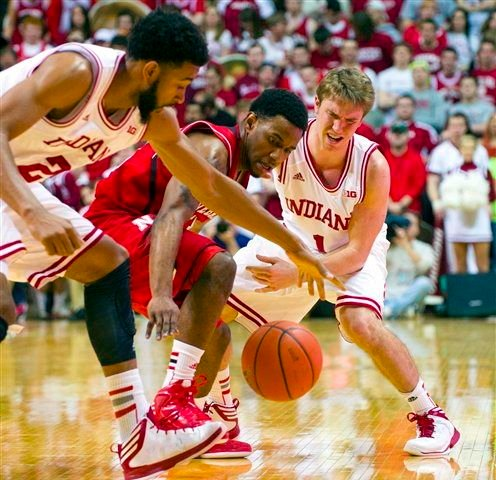 Seniors Christian Watford (left) and Jordan Hulls have been there for every step of Indiana's basketball turnaround.