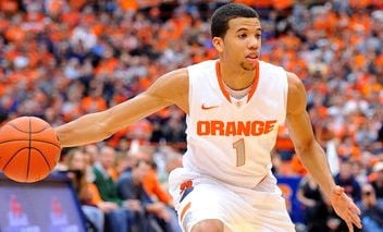 The length of Syracuse guard Michael Carter-Williams could cause problems for Indiana.