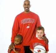 Darrell Griffith has been touting Louisville's Final Four backcourt to his NBA friends.