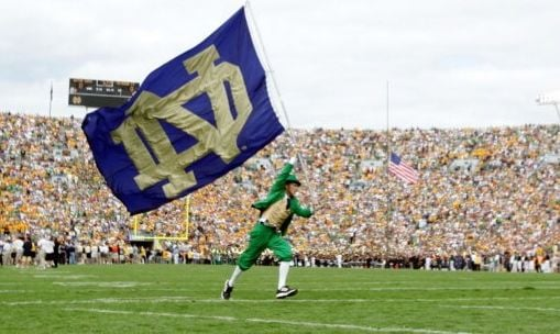 The Chicago Tribune is reporting that Louisville and Notre Dame will play in football in the 2014 season, U of L's first in the ACC, according to an NBC executive.