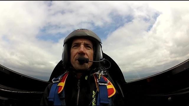 Stunt Pilot Billy Werth