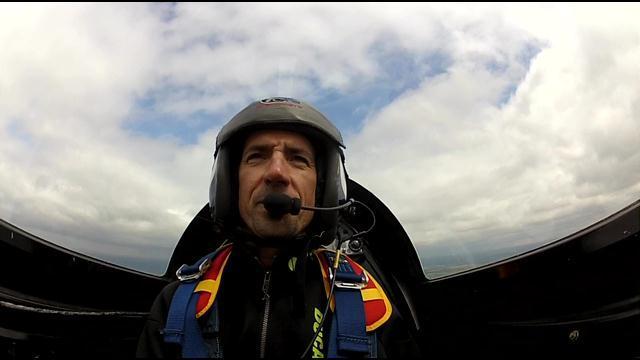 Stunt Pilot Billy Werth