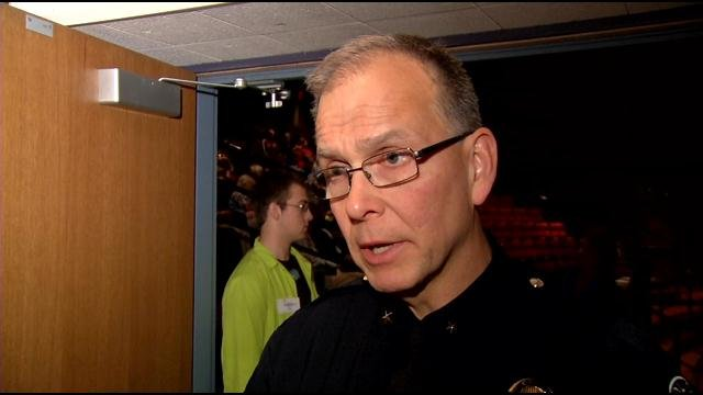 LMPD Chief Steve Conrad says guns have been involved in nine murders in Louisville so far in 2013.