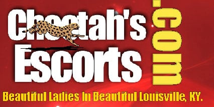 Logo of Cheetah's Escorts, the escort service that was incorporated by John Hull, according to the Kentucky Secretary of State's Web site.