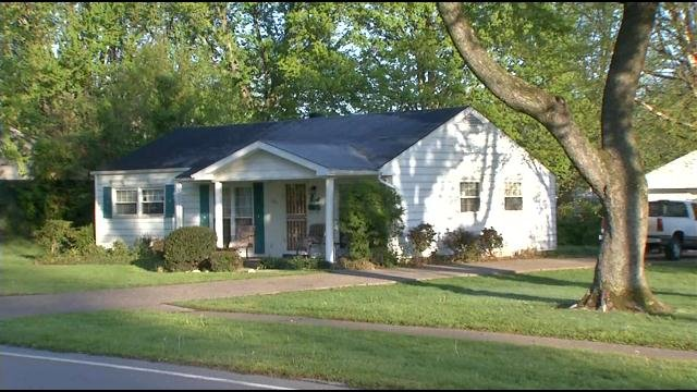 The Shively home where a father found his two children unconscious from carbon monoxide poisoning on April 25, 2013.