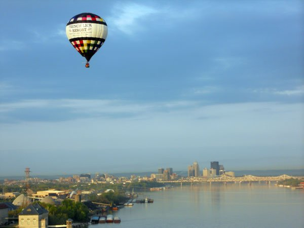 The Kentucky Derby Festival is holding several balloon events in the next few days, including the Great Balloon Glimmer, the Great Balloon Glow, the Great