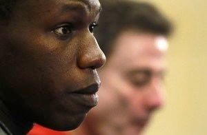 Louisville's Gorgui Dieng heads to the NBA having left a different kind of mark on the Cardinals' basketball program. (AP photo)