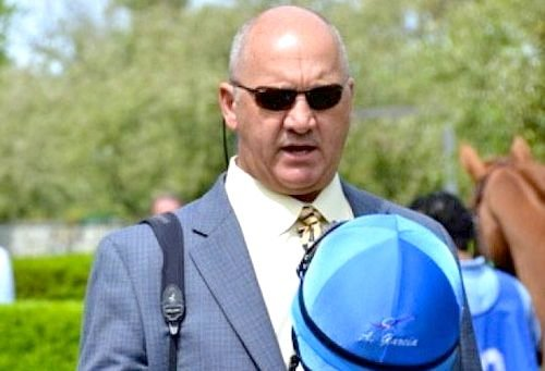 Trainer Kenny McPeek has two contenders for Kentucky Derby 139 and a smart phone app that enables horse racing fans to follow the game.