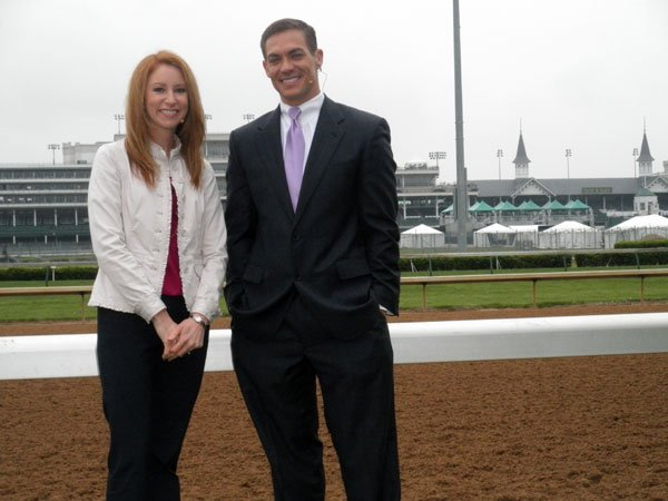 WDRB in the Morning hosts Candyce Clifft and Sterling Riggs gear up for Day One of Derby week coverage at Churchill Downs!