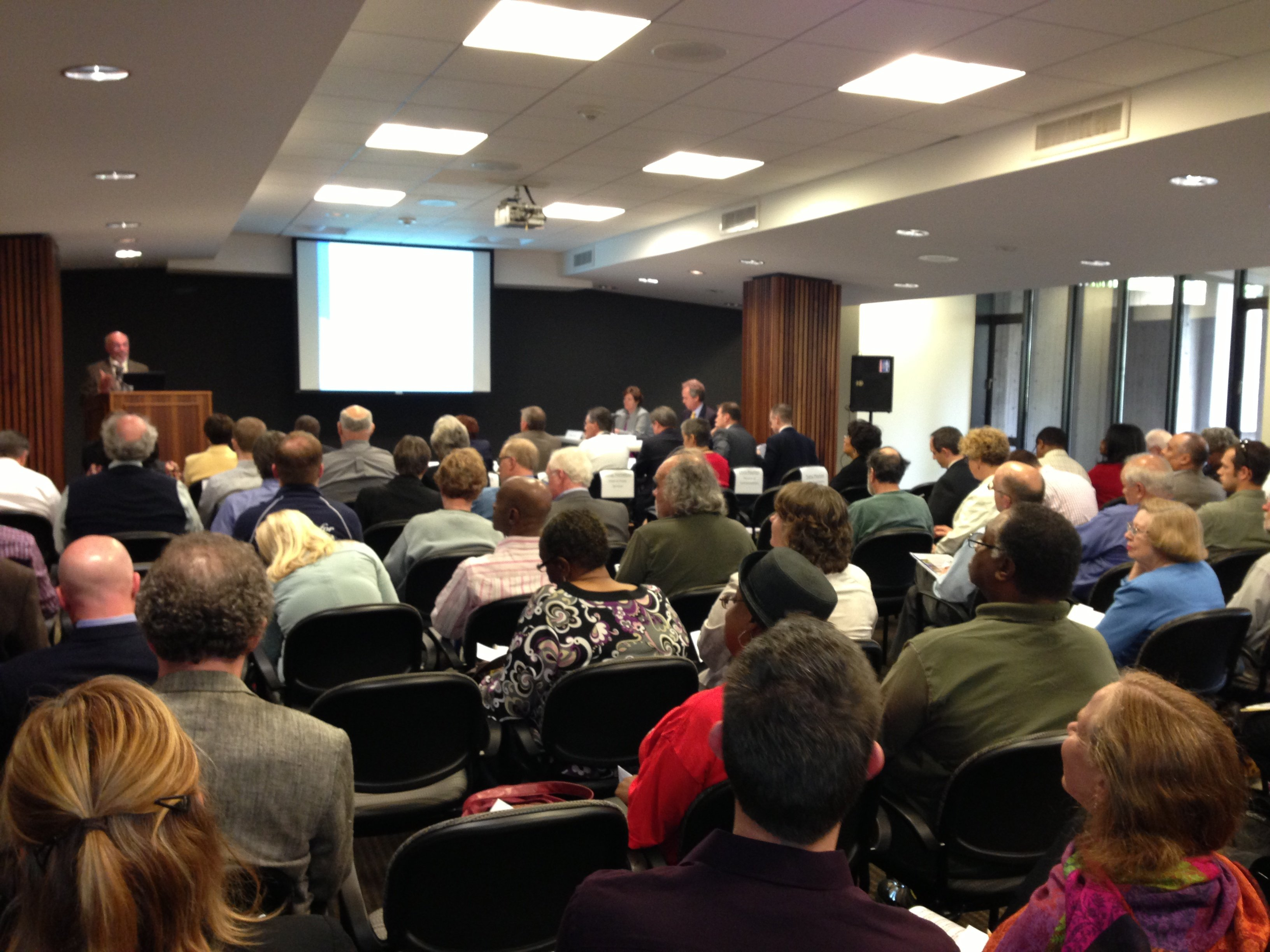 It was a full house for the first of many bi-monthly public meetings on vacant properties