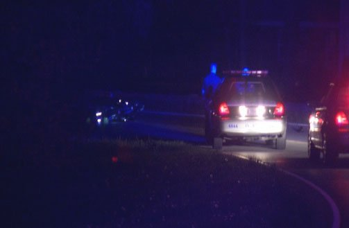 Lower Hunters Trace near Triplett Court was the location of the second accident Thursday morning
