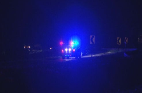 The driver of the motorcycle was pronounced dead at the scene