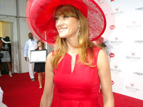 Actress Jane Seymour on the Red Carpet for Derby 139.