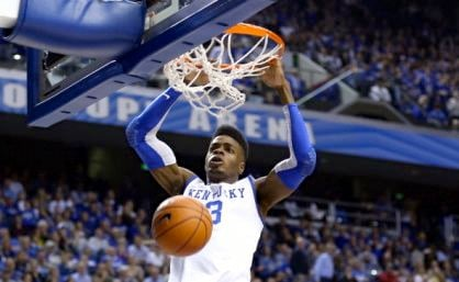 Nerlens Noel is in line to become the third Kentucky player taken first in the NBA Draft in four seasons.