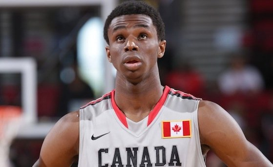 Andrew Wiggins, the nation's top-ranked basketball recruit, who today chose Kansas over Kentucky, North Carolina and Florida State
