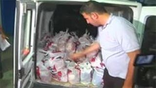 Some people in Gaza are going to great lengths to satisfy their cravings for finger-licking good KFC chicken.