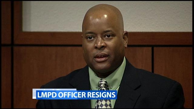 David Graham resigned as a Louisville metro police officer on May 22.  A jury had convicted him of striking a handcuffed suspect.
