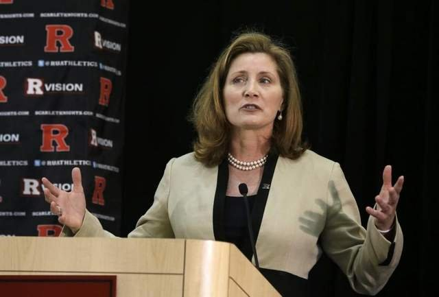 Julie Hermann was hired from Louisville and faces accusations of abuse 16 years ago, after being hired as AD at the university ravaged by its own abuse scandal.