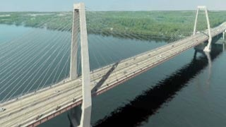 Animation of new East End bridge