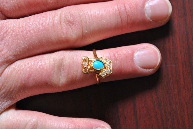 This ring belonged to the unidentified woman. If you have a tip, contact the Kentucky State Police at 1-800-222-5555.