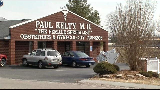 Dr. Paul Kelty's office is located in Corydon, Indiana. Agents seized records there in March after patients accused him of sexual abuse.