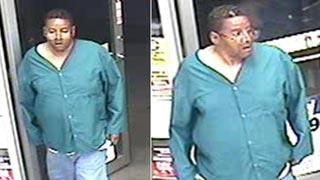 Surveillance photo of alleged Circle K robber