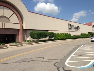 Dillard's is one of the larger retailers in Green Tree.