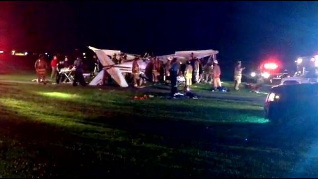 A relative says one of the recent Butler High School graduates had been advised not to go up in the plane.