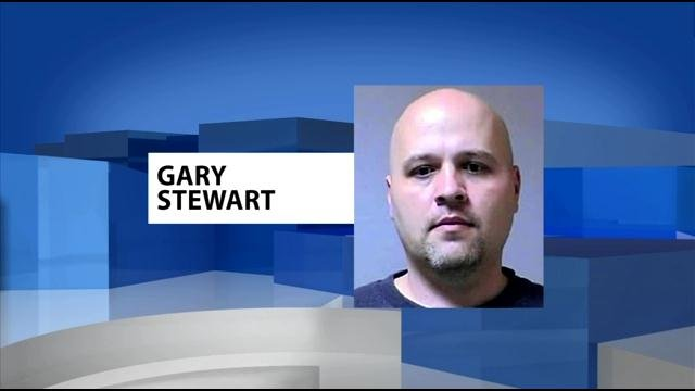 Authorities say 40-year-old Gary Stewart shot and killed his ex-girlfriend and 8-year-old daughter before killing himself.