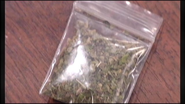 "Louisville Metro Police have arrested one man after they say a juvenile called 911 after smoking synthetic marijuana, also known as ""spice."""