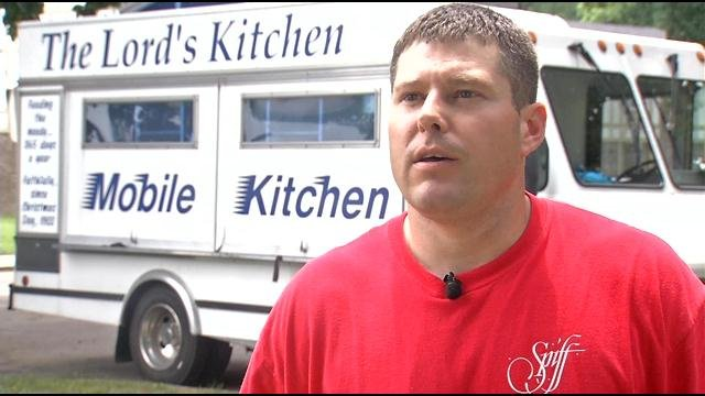 Matthew Baird with the Lord's Kitchen says they deliver about 800 free lunches every day.